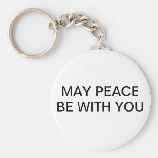 5月の平和はあなたとキーホルダーです キーホルダー