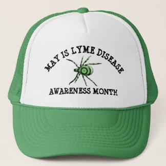 5月はライム病の認識度月の野球帽です キャップ