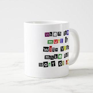 5月めい想はあなたとあります ジャンボコーヒーマグカップ