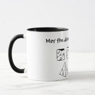 5月サイコロはあなたの好意で転がります マグカップ