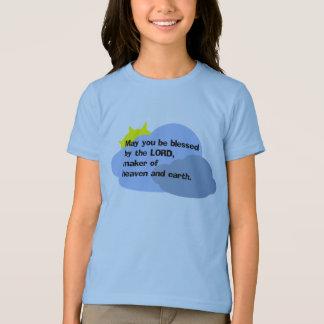 """""""5月主によって""""の女の子のTシャツ賛美されます Tシャツ"""