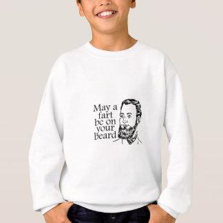 5月屁はあなたのひげにあります スウェットシャツ