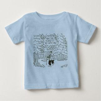 """""""5月森林はあなたとあります! """" ベビーTシャツ"""