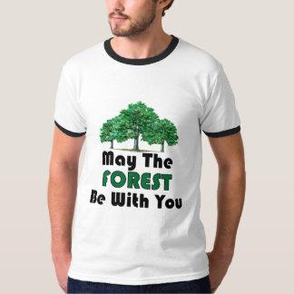 5月森林はあなたとあります Tシャツ