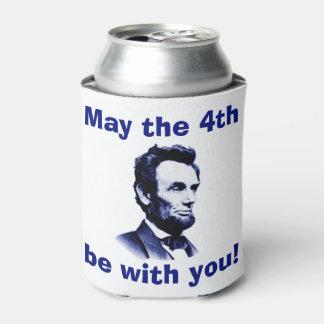 5月第4はあなたとAbeです 缶クーラー