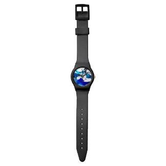 5月28日の腕時計の青インクの(ばちゃばちゃ)跳ねる 腕時計