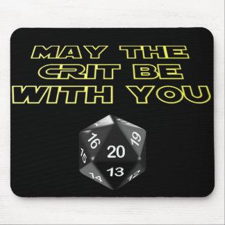 5月Critはあなたとあります マウスパッド