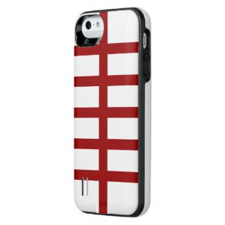 5赤線を二等分しました iPhone SE/5/5sバッテリーケース