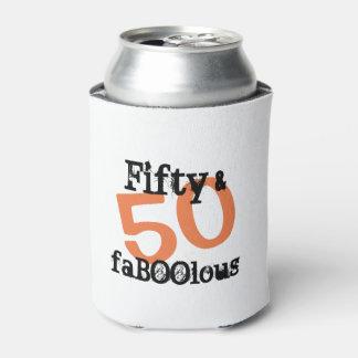 50およびすばらしいハロウィン- 50およびFaBOOlous 缶クーラー