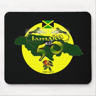 50のジャマイカ マウスパッド
