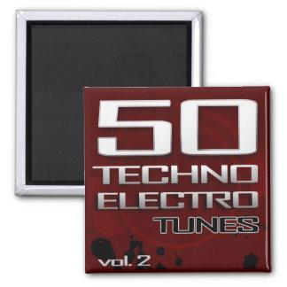 50のテクノの電子調子、Vol. 2の磁石 マグネット