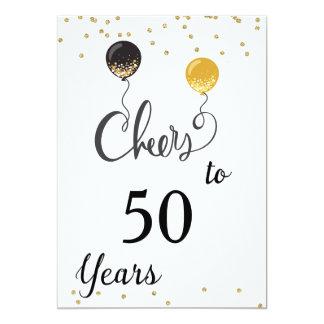 50年への応援 カード