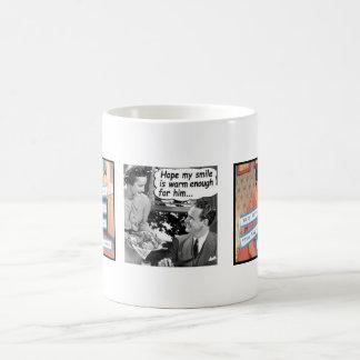 50年代のおもしろいな主婦のマグ コーヒーマグカップ