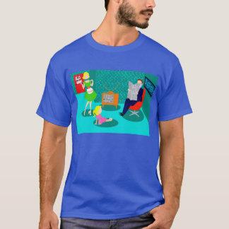 50年代のクラシックなテレビのTシャツ Tシャツ