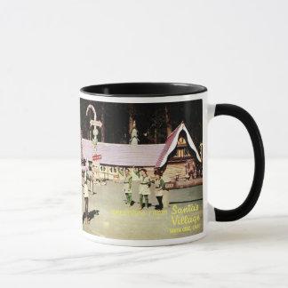 50年代のサンタのマグ マグカップ
