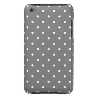 50年代のスタイルの水玉模様のipod touchチタニウムのG4の場合 Case-Mate iPod Touch ケース