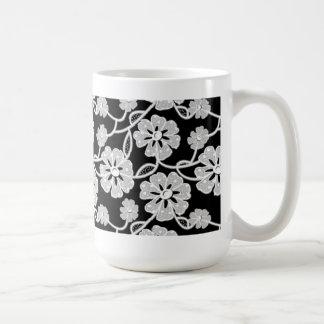 50年代のレース コーヒーマグカップ