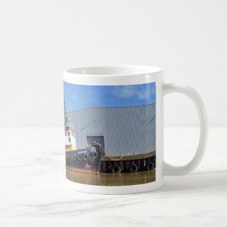 50年代の引っ張りのボートGluvias コーヒーマグカップ