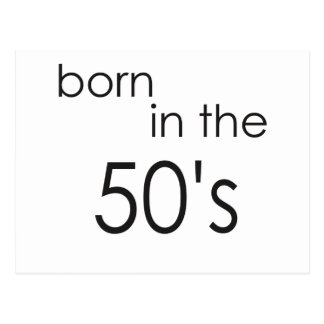 50年代.pngに生まれて下さい はがき
