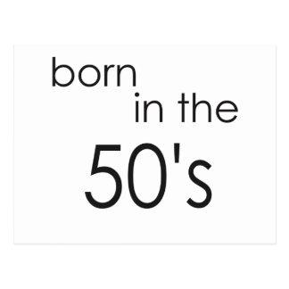 50年代.pngに生まれて下さい ポストカード