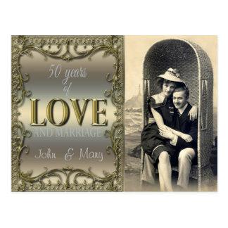 50年間の愛 ポストカード