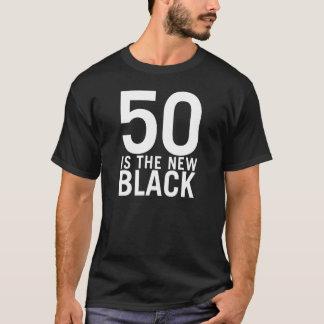 50新しい黒はあります Tシャツ