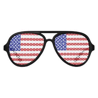 50星米国は印を付けます アビエーターサングラス