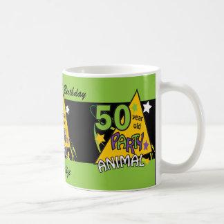 50歳のパーティー好きな人|の第50誕生日 コーヒーマグカップ