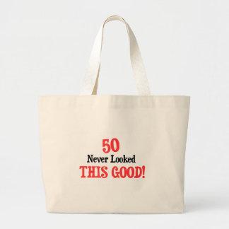 50決してよいこれを見ませんでした ラージトートバッグ
