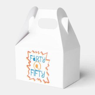 50第50誕生日のギャグのギフトのおもしろいなFarty フェイバーボックス