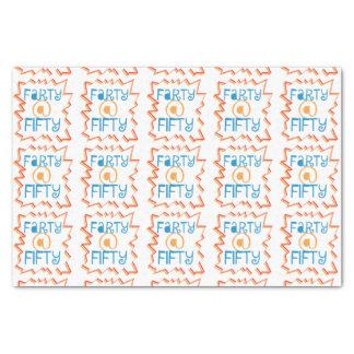 50第50誕生日のギャグのギフトのおもしろいなFarty 薄葉紙