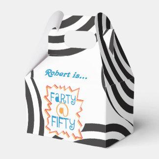 50第50誕生日の好意箱のおもしろいなFarty フェイバーボックス