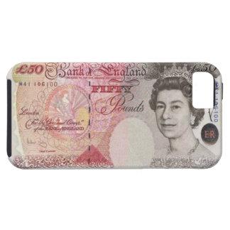 50英国ポンドの銀行券のiPhone 5の場合 iPhone SE/5/5s ケース