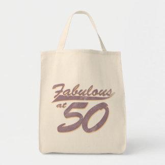 50誕生日ですばらしい トートバッグ