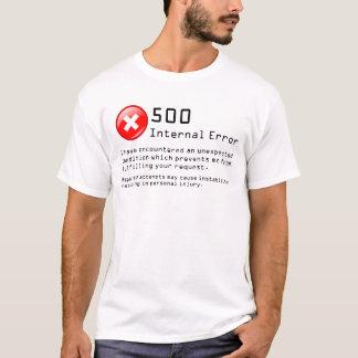 500内部エラー Tシャツ