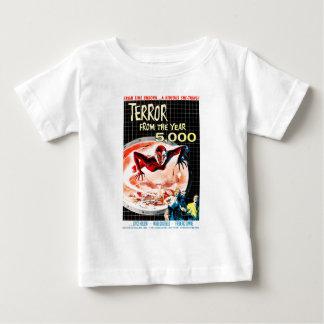 5000からの恐怖 ベビーTシャツ