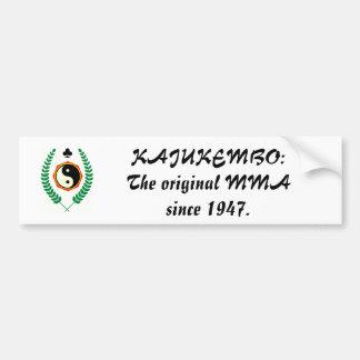 501px-Kajukenbo-crest_svg、KAJUKEMBO: origi… バンパーステッカー