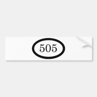 505のパラシュートの歩兵 バンパーステッカー