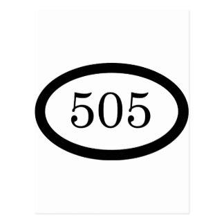 505のパラシュートの歩兵 ポストカード