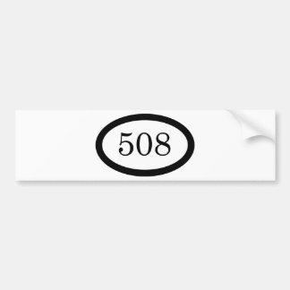 508 バンパーステッカー