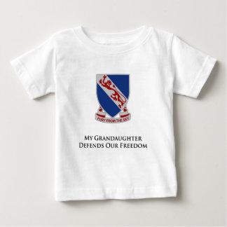 508thパラシュートの歩兵連隊 ベビーTシャツ