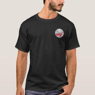 508th PIRの小型パッチ + 空輸の翼のTシャツ Tシャツ