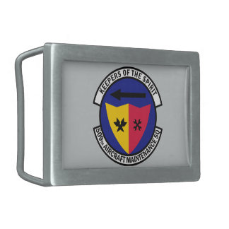 509th航空機整備の艦隊 長方形ベルトバックル