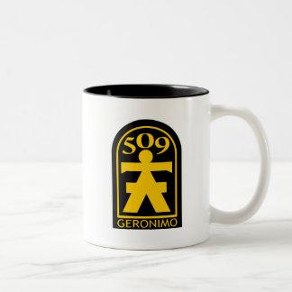 509th PIR Geronimoパッチ ツートーンマグカップ