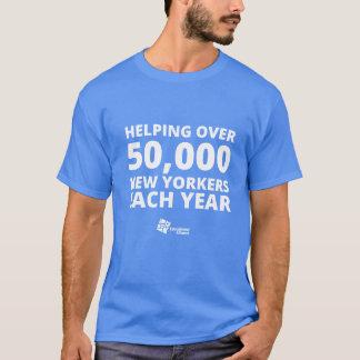 50,000人のニューヨーカーのTシャツ Tシャツ