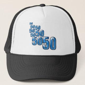50 50 50 キャップ