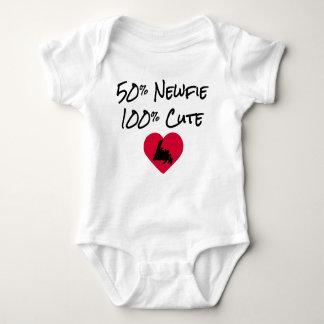 50% Newfie -かわいい100% ベビーボディスーツ