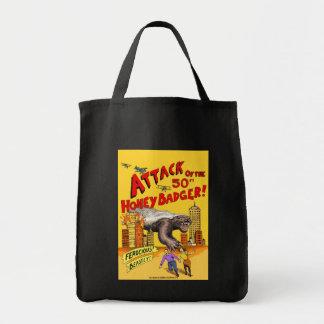 50ftのラーテルの攻撃! ショッピングのトートバック トートバッグ