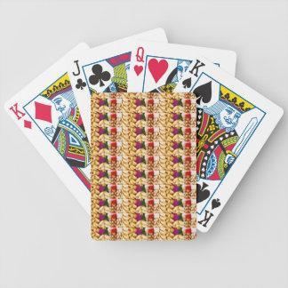 51枚のトランプのポーカークラブファンカード: 芸術的なヴィンテージGoodluck バイスクルトランプ