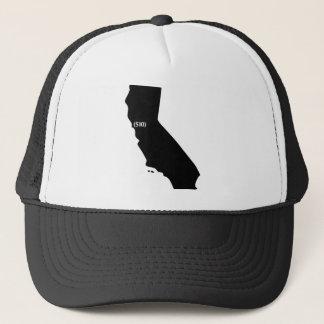 510市外局番、カリフォルニアの湾区域 キャップ